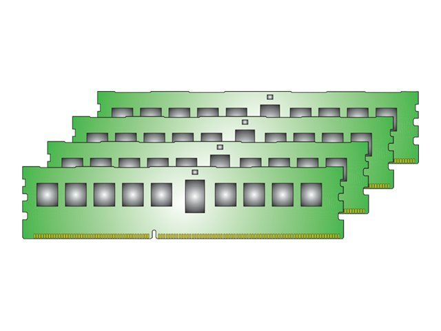 Kingston - DDR3 - 16 GB: 4 x 4 GB - DIMM 240-PIN - 1333 MHz / PC3-10600 - registriert
