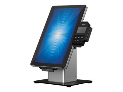 Elo Slim Self-Service Countertop Stand - Aufstellung für POS-Terminal - Schwarz/Silber - für Elo 1502L, 2002L, 2202L, 2402L; I-S