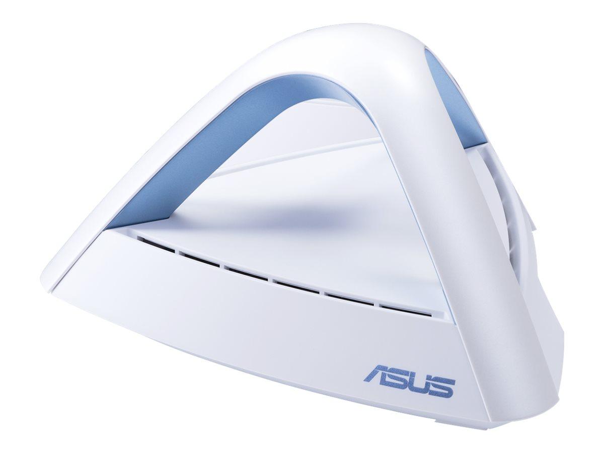 ASUS Lyra Trio - WLAN-System (2 Router) - bis zu 334 qm - Netz - GigE - 802.11a/b/g/n/ac