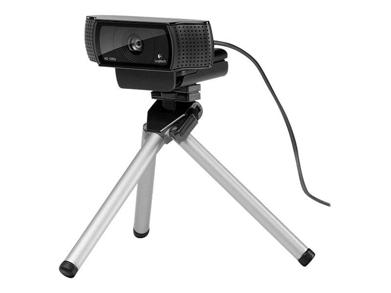 Logitech HD Pro Webcam C920 - Web-Kamera - Farbe - 1920 x 1080 - Audio - USB 2.0