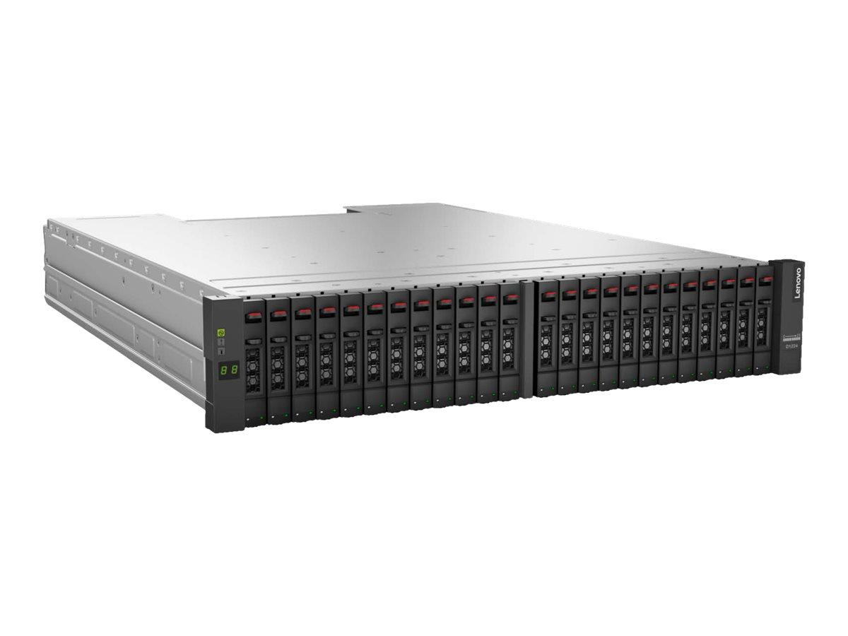 Lenovo Storage D1224 4587 - Speichergehäuse - 24 Schächte (SAS-3) - Rack - einbaufähig - 2U