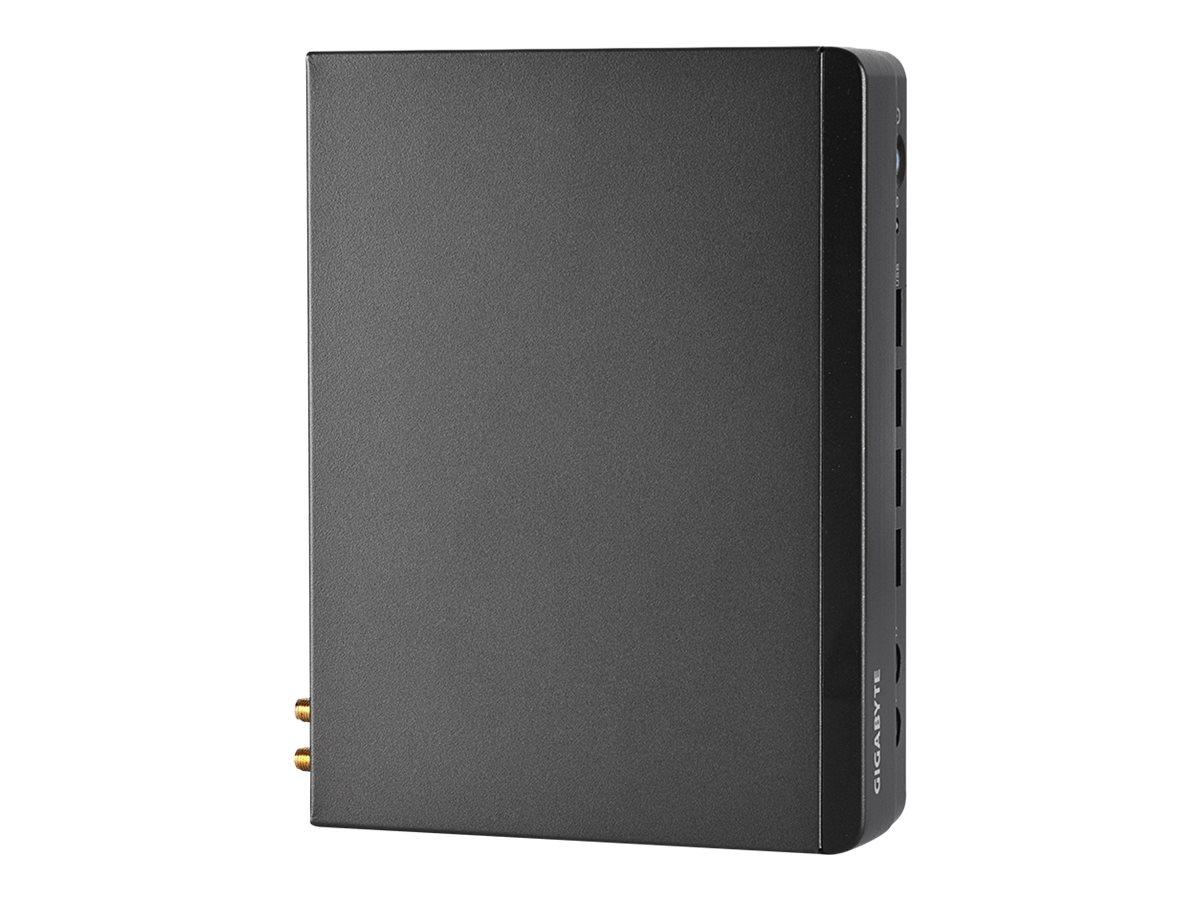 Gigabyte BRIX Pro GB-BSRE-1505 (rev. 1.0) - Barebone - Ultra Compact PC Kit - 1 x Ryzen Embedded R1505G / 2.4 GHz - RAM 0 GB - R