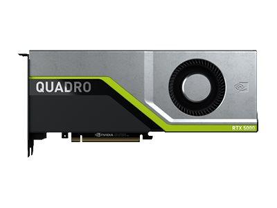 NVIDIA Quadro RTX 5000 - Grafikkarten - Quadro RTX 5000 - 16 GB GDDR6 - PCIe 3.0 x16 - 4 x DisplayPort, USB-C
