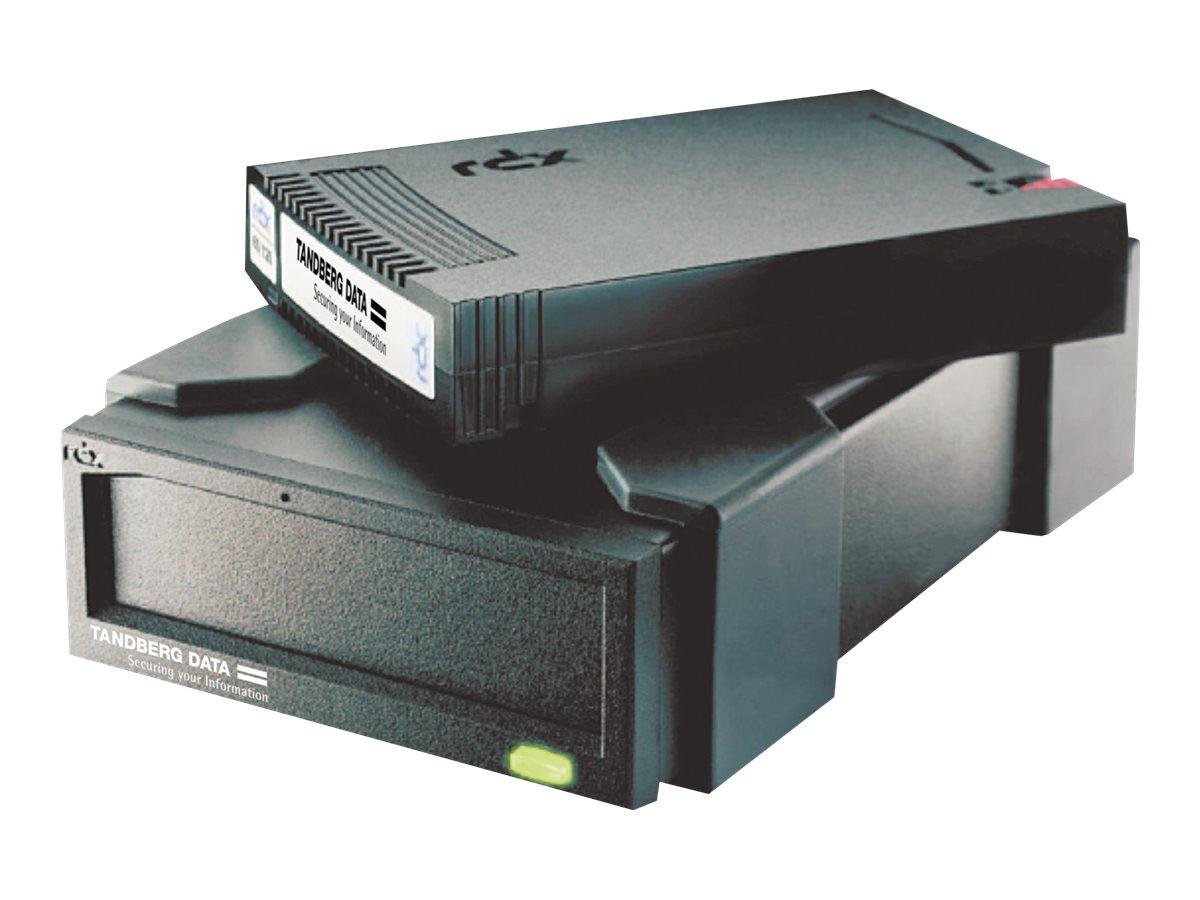 Tandberg RDX QuikStor USB powered - Laufwerk - RDX - SuperSpeed USB 3.0 - extern - Schwarz