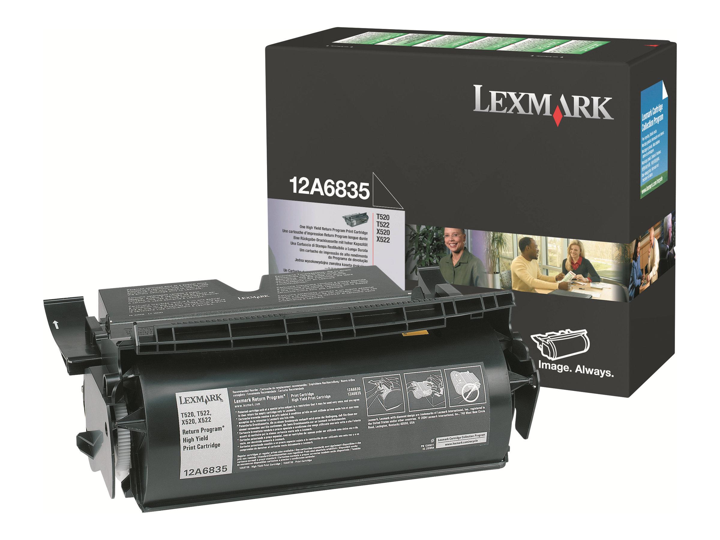 Lexmark - Schwarz - Original - Tonerpatrone Prebate - für T520, 522; X520, 522