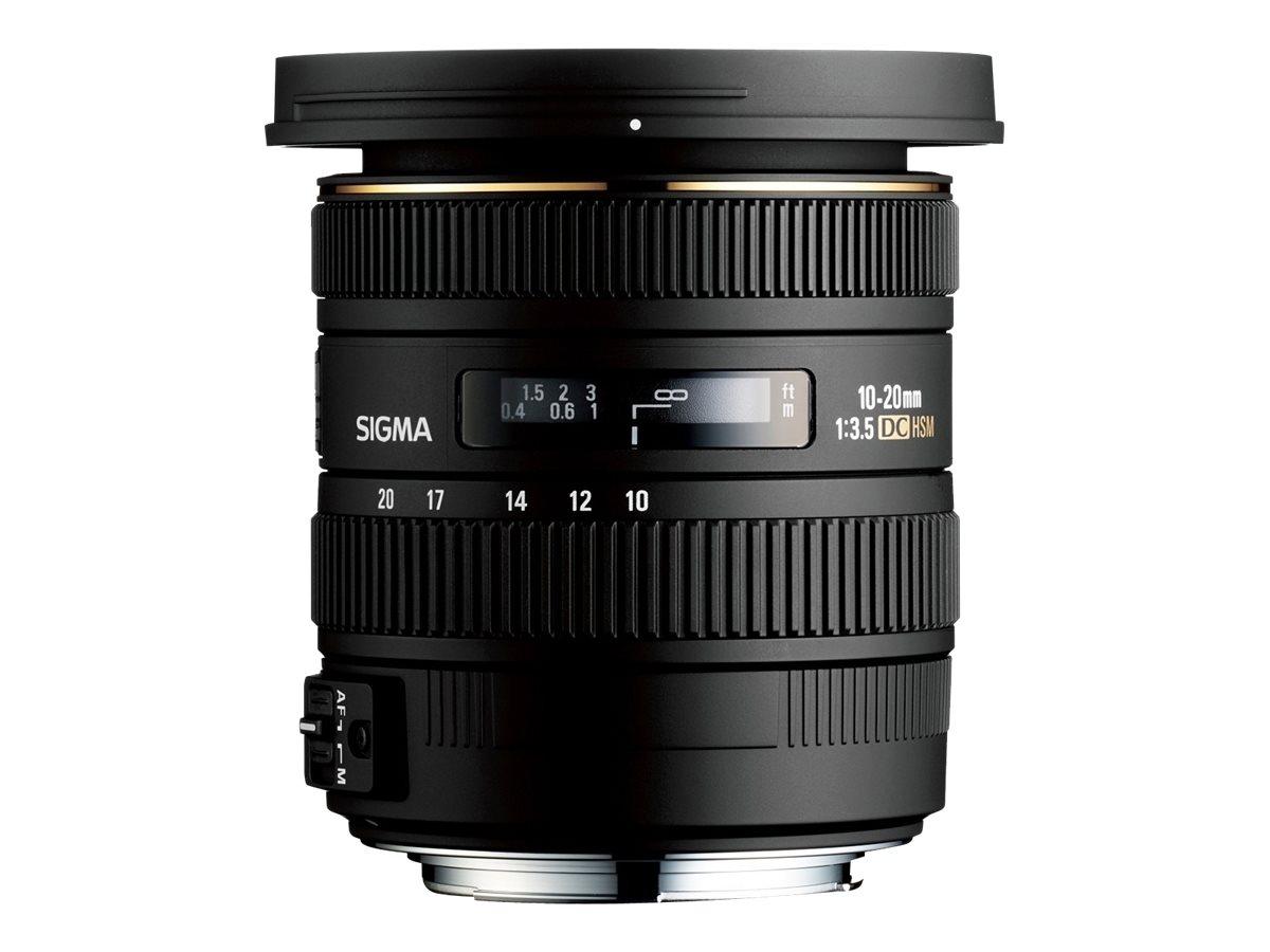 Sigma EX - Weitwinkel-Zoom-Objektiv - 10 mm - 20 mm - f/3.5 DC HSM - Nikon F
