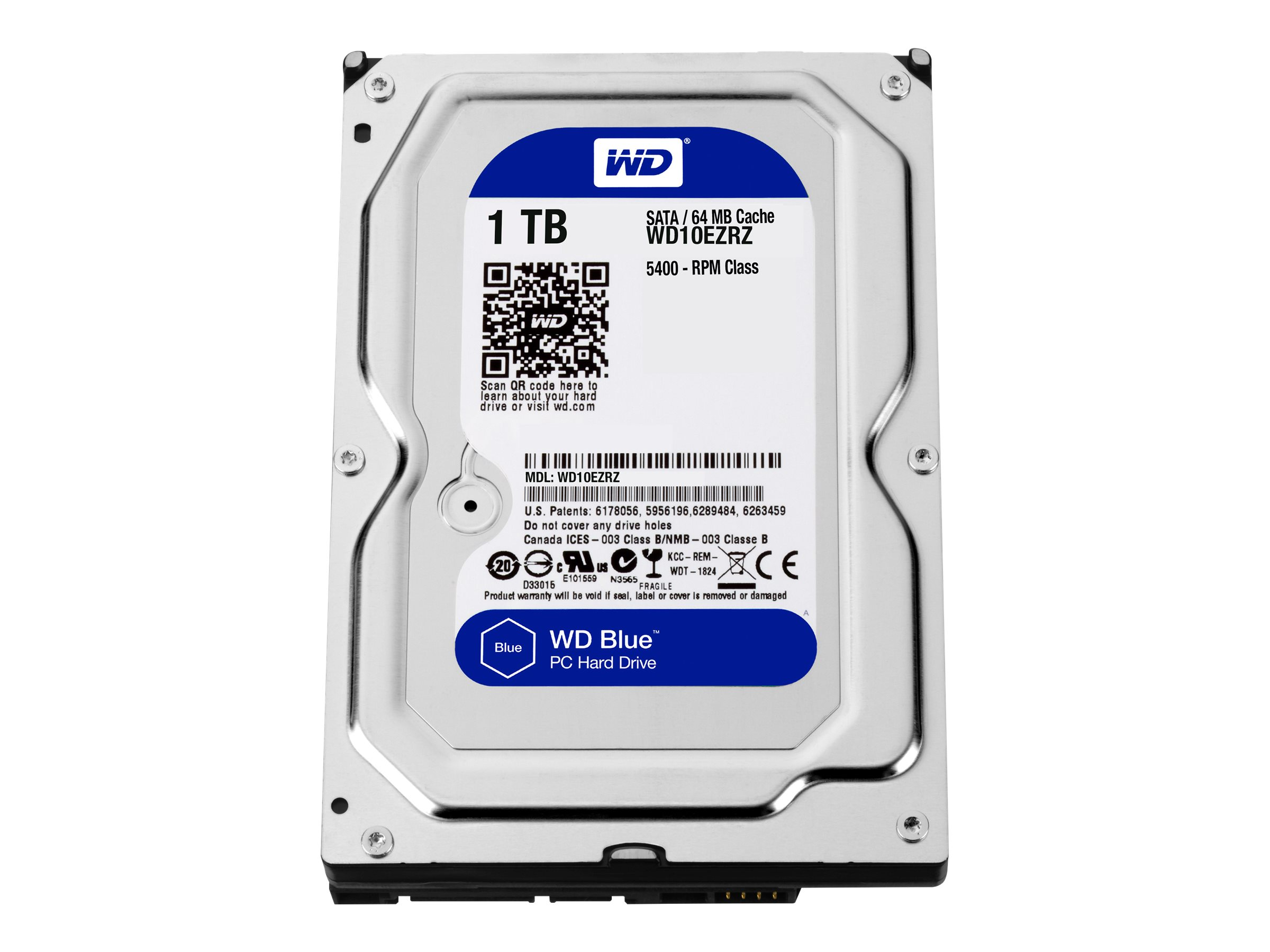 WD Blue WD10EZRZ - Festplatte - 1 TB - intern - 3.5