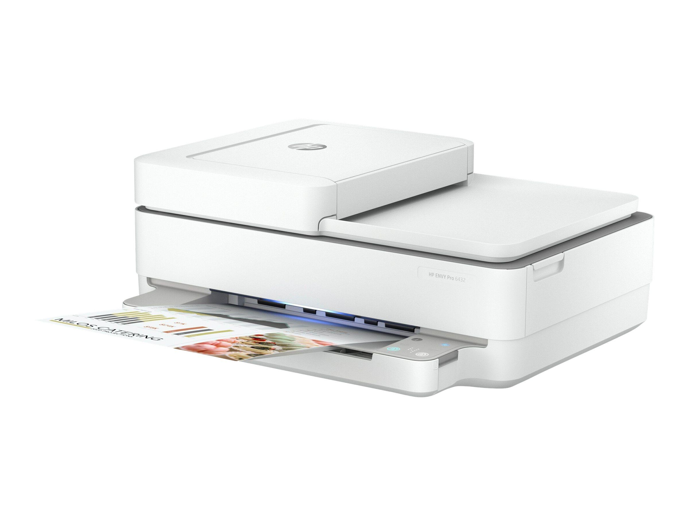 HP ENVY Pro 6432 All-in-One - Multifunktionsdrucker - Farbe - Tintenstrahl - 216 x 297 mm (Original) - A4/Letter (Medien)