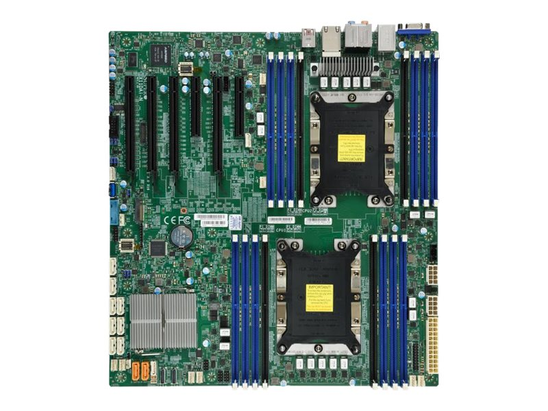 SUPERMICRO X11DAi-N - Motherboard - Erweitertes ATX - Socket P - 2 Unterstützte CPUs - C621
