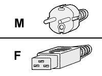 Cisco - Stromkabel - IEC 60320 C19 bis CEE 7/7 (M) - Wechselstrom 250 V - 4 m - Europa