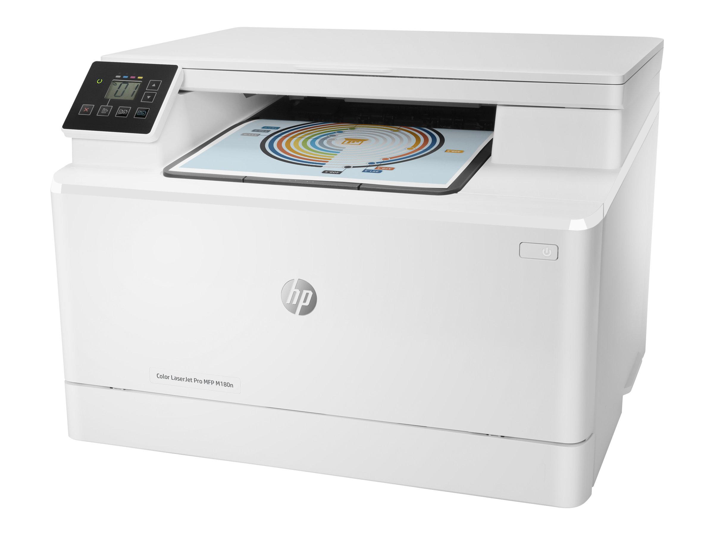 HP Color LaserJet Pro MFP M180n - Multifunktionsdrucker - Farbe - Laser - 215.9 x 297 mm (Original) - A4/Legal (Medien)