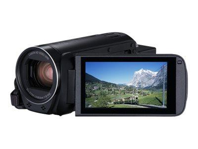 Canon LEGRIA HF R86 - Camcorder - 1080p / 50 BpS - 3.28 MPix - 32x optischer Zoom - Flash 16 GB
