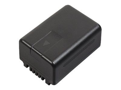 Panasonic VW-VBT190E-K - Batterie - Li-Ion - 1940 mAh - für Panasonic HC-V360, V480, V800, V808, VX1, VX11, VX981, VX985, VXF1,
