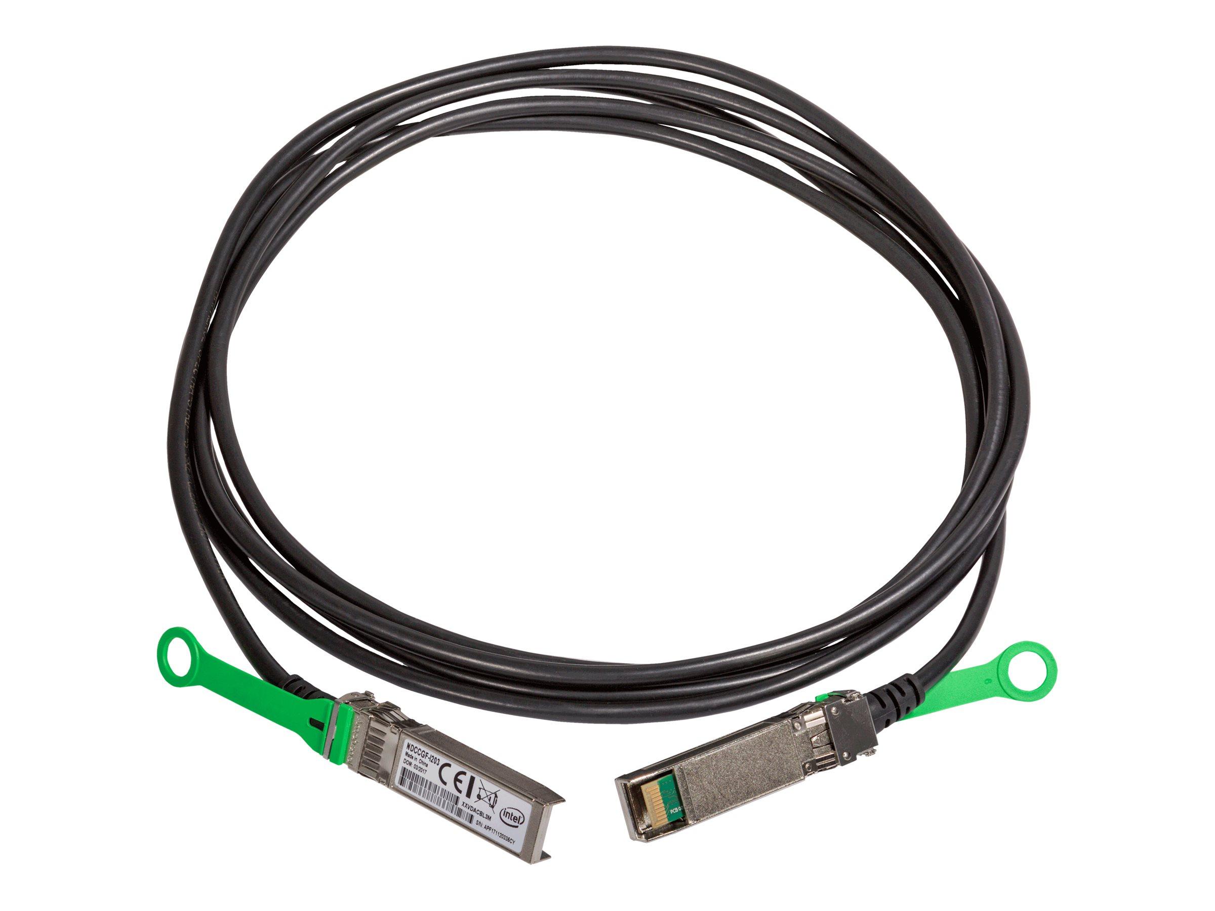 Intel - Direktanschlusskabel - SFP28 bis SFP28 - 1 m - twinaxial - für Ethernet Converged Network Adapter XXV710, XXV710-DA1; Et