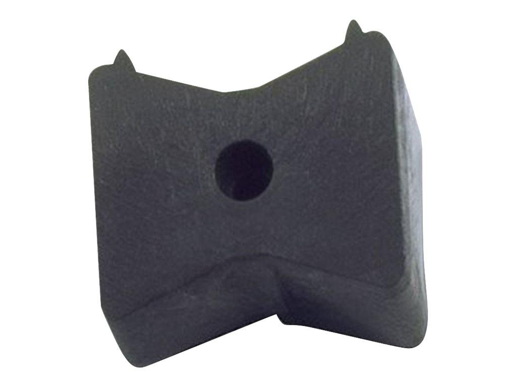 Adam Hall Defender 3 CP - Anschluss für Kabelschutz - Boden montierbar - Innenbereich, Aussenbereich - Schwarz
