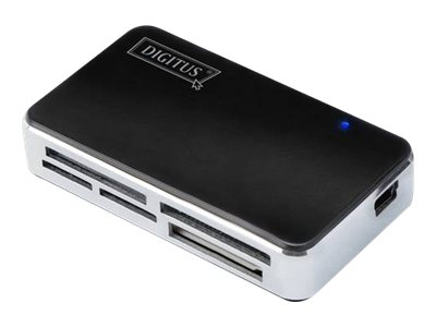 DIGITUS DA-70322-1 - Kartenleser - All-in-one (MS, MS PRO, MMC, SD, xD, MS PRO Duo, miniSD, CF, RS-MMC, MMCmobile, microSD, MMCp