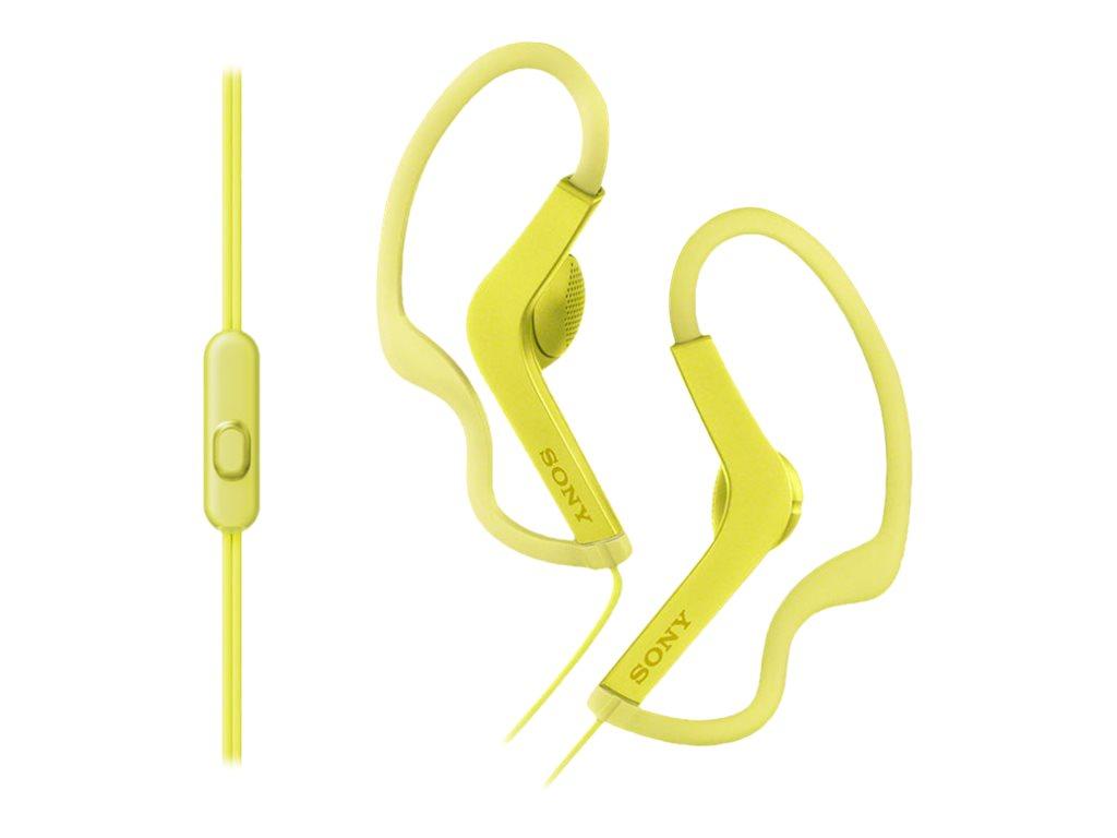 Sony MDR-AS210AP - Sport - Ohrhörer mit Mikrofon - Ohrstöpsel - über dem Ohr angebracht - kabelgebunden
