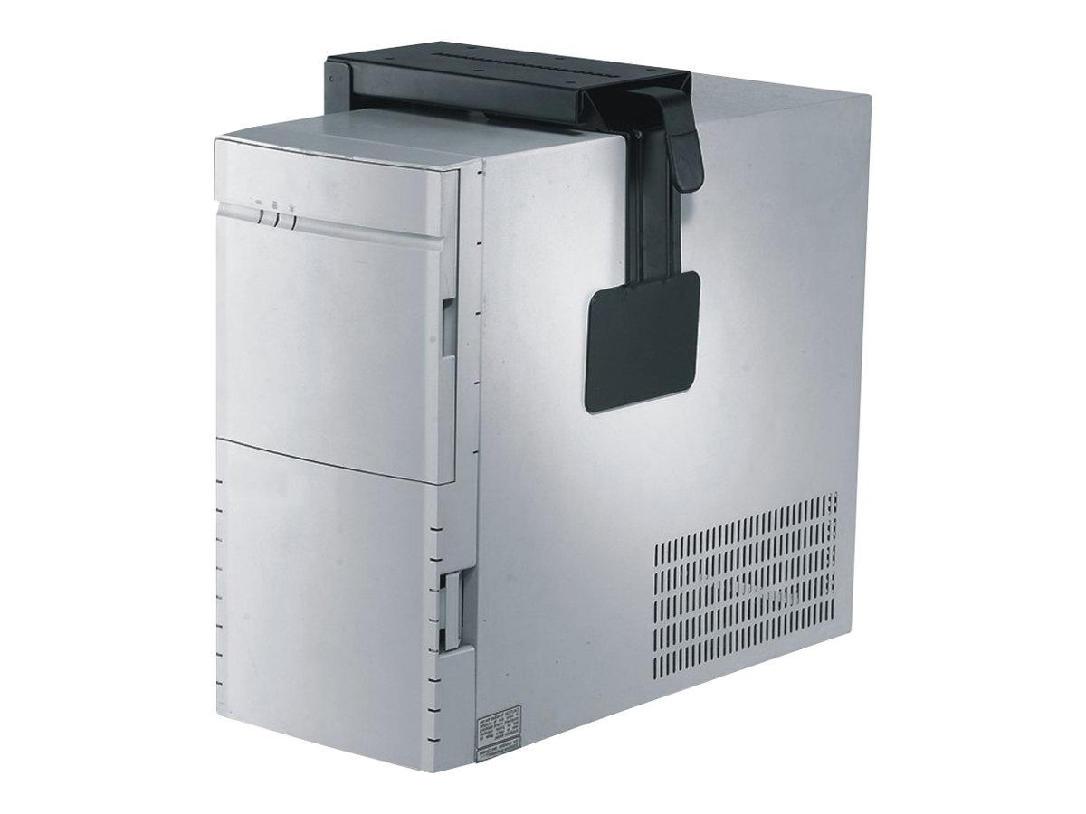 NewStar CPU-D100BLACK - Halterung für Systemeinheit - unter Tisch montierbar - Schwarz