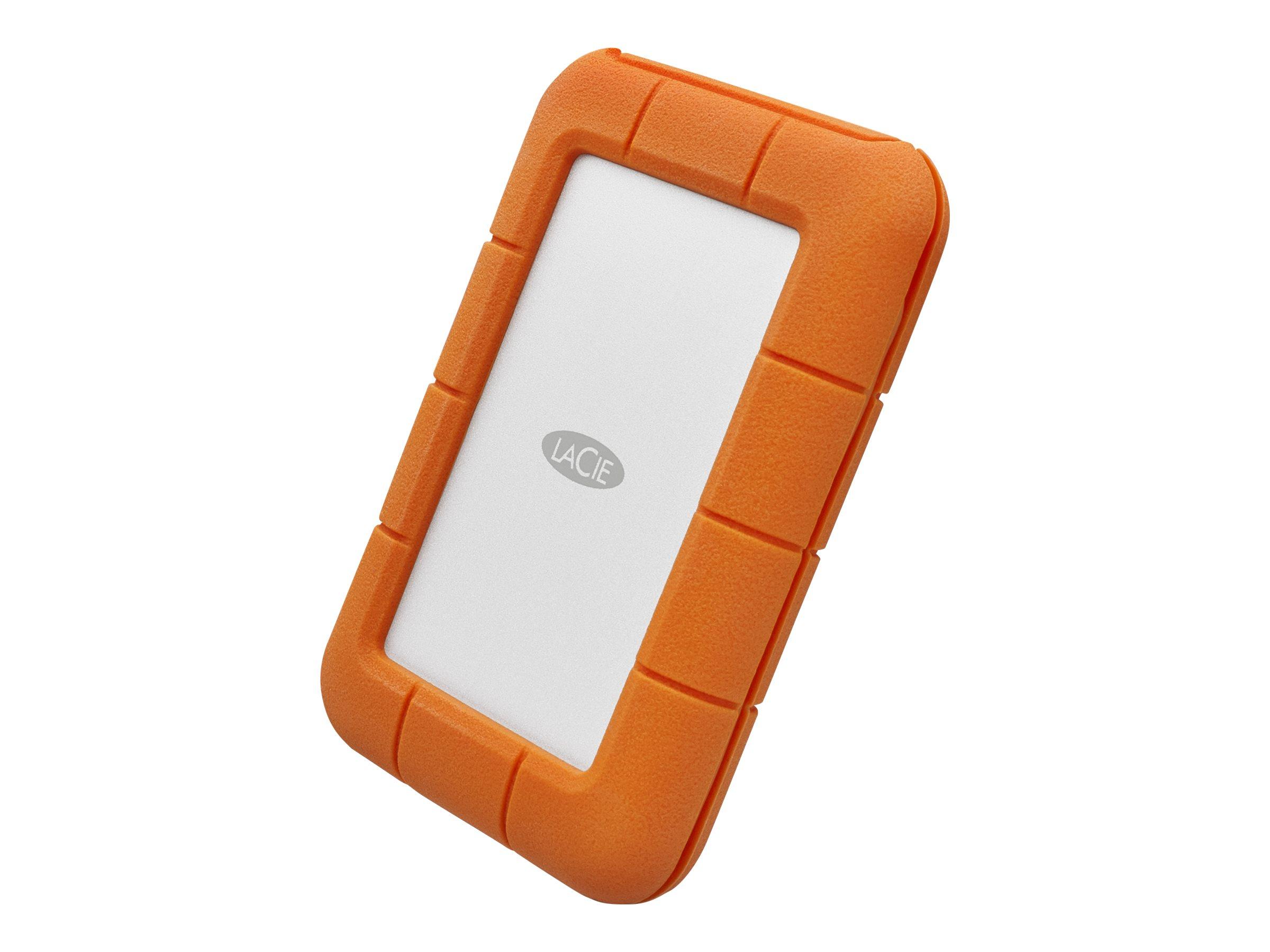 LaCie Rugged USB-C - Festplatte - 1 TB - extern (tragbar) - USB 3.1 Gen 1 (USB-C Steckverbinder)