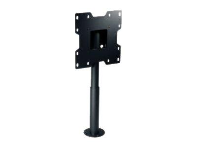 Peerless Desktop Swivel Mount HP432-002 - Befestigungskit (Schwenkrohr, Adapterplatte, Bodenplatte) für Flachbildschirm - Epoxid