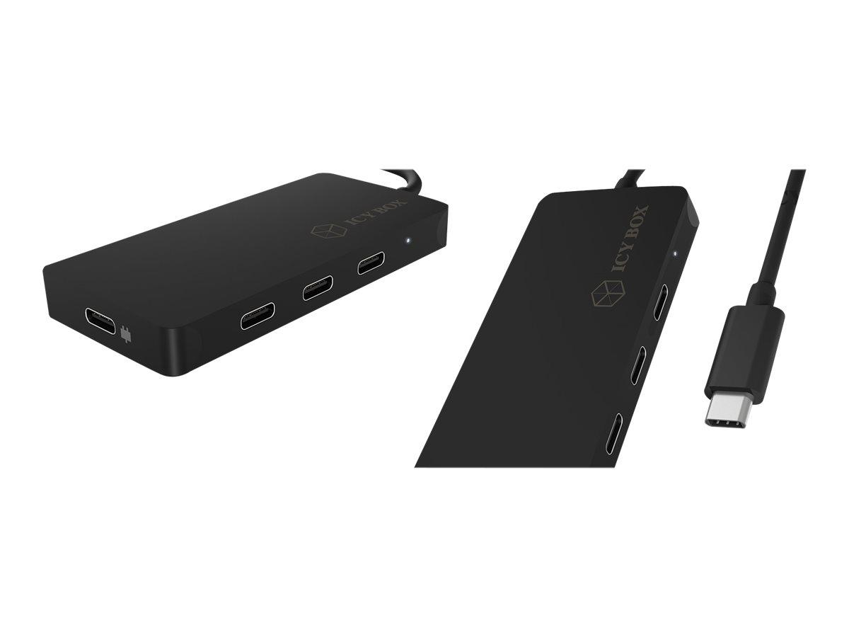 RaidSonic ICY BOX IB-HUB1429-CPD - Hub - 4 x USB-C - Desktop