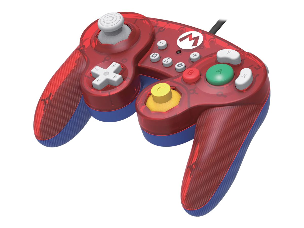 HORI Battle Pad (Mario) - Game Pad - kabelgebunden - für Nintendo Switch
