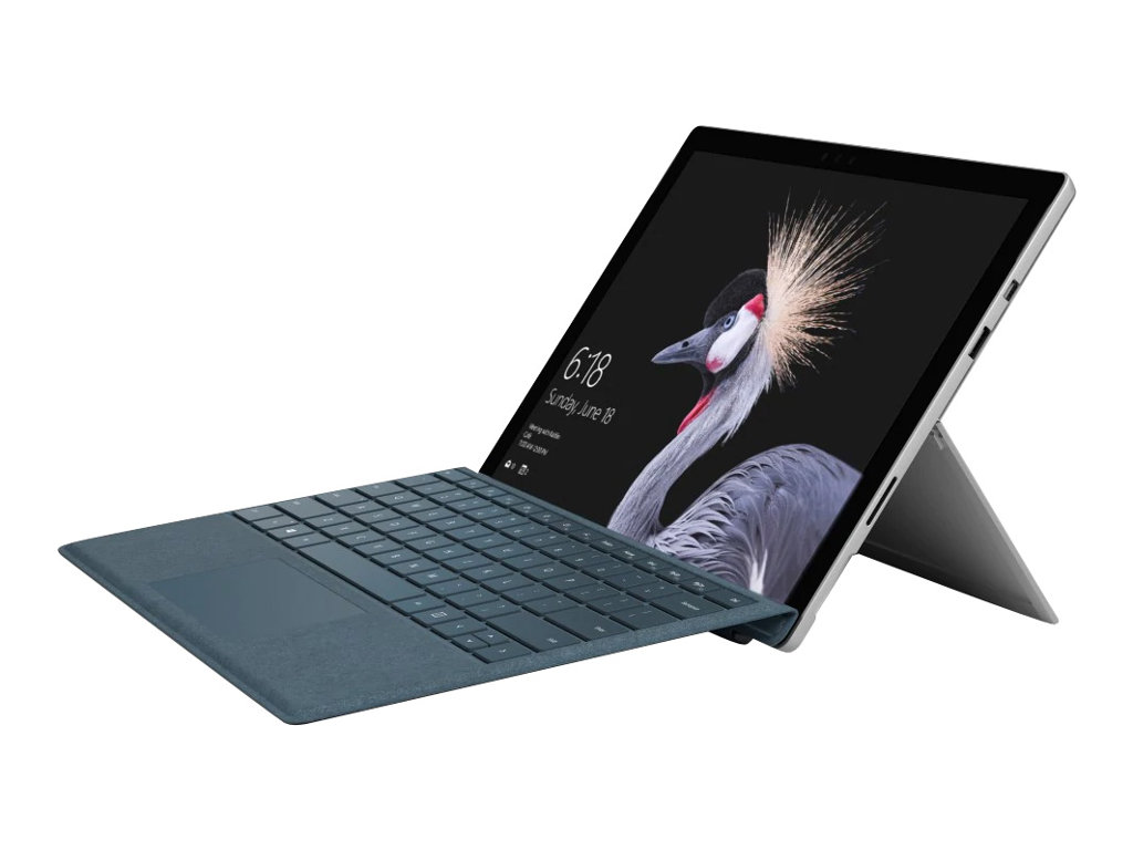 Microsoft Surface Pro - Tablet - Core i7 7660U / 2.5 GHz - Win 10 Pro 64-Bit - 8 GB RAM - 256 GB SSD