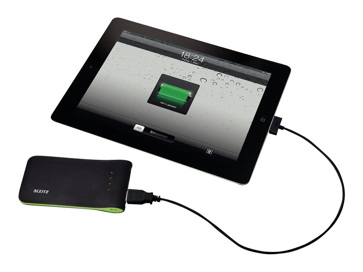 Leitz Complete - Powerbank - 5000 mAh - 1 A - 2 Ausgabeanschlussstellen (USB) - Schwarz