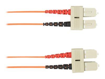 Black Box - Patch-Kabel - SC multi-mode (M) bis SC multi-mode (M) - 10 m - Glasfaser - orange