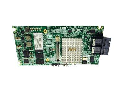 Supermicro AOM-S3108M-H8 - Speichercontroller (RAID) - 8 Sender/Kanal - SAS 12Gb/s Low-Profile - 1.2 GBps - RAID 0, 1, 5, 6, 10,