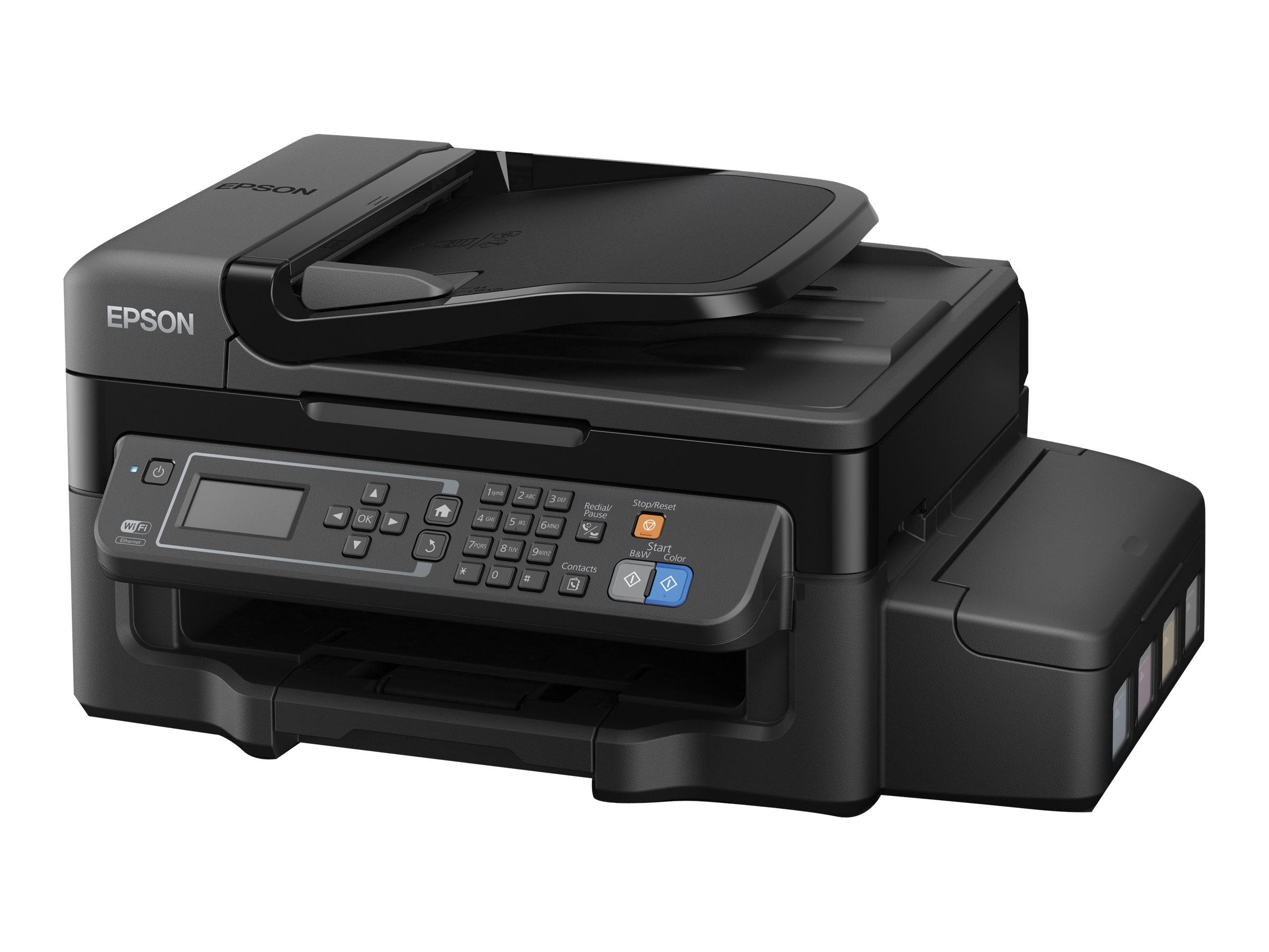 Epson EcoTank ET-4500 - Multifunktionsdrucker - Farbe - Tintenstrahl - A4/Legal (Medien) - bis zu 33 Seiten/Min. (Drucken)