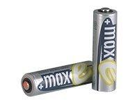 ANSMANN maxE - Batterie 4 x AA-Typ - NiMH - (wiederaufladbar) - 2100 mAh