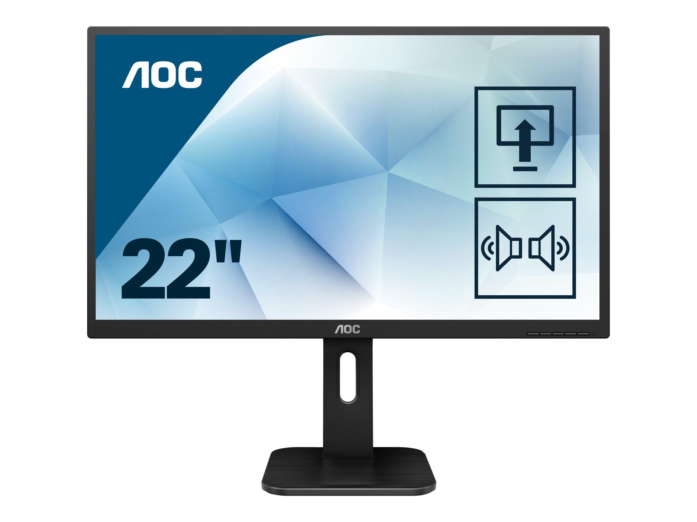 AOC 22P1D - LED-Monitor - 54.6 cm (21.5
