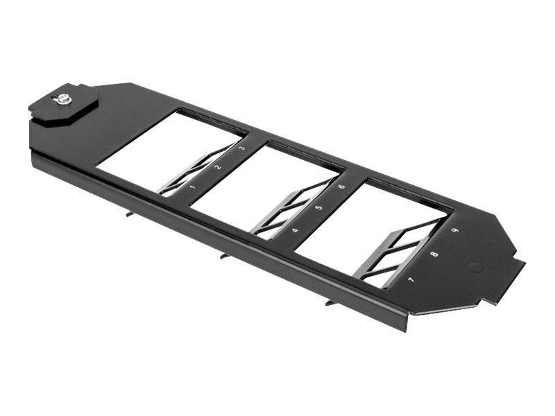 DIGITUS Professional AN-25180 - Modularer Einsatz Frameset - 9 Ports