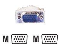 Roline - VGA-Kabel - HD-15 (VGA) (M) bis HD-15 (VGA) (M) - 1.8 m