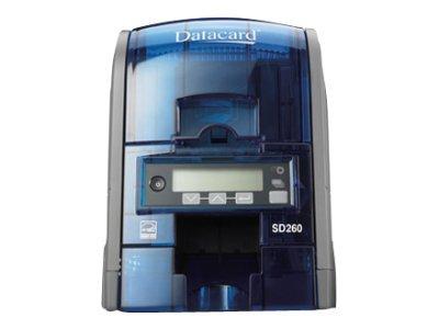 Datacard SD260 - Plastikkartendrucker - Farbe - CR-80 Card (85.6 x 54 mm) - bis zu 850 Karten/Stunde (einfarbig)/ bis zu 200 Kar