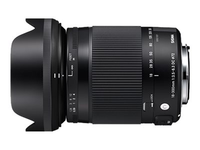 Sigma Contemporary - Zoomobjektiv - 18 mm - 300 mm - f/3.5-6.3 DC Macro HSM - Pentax K