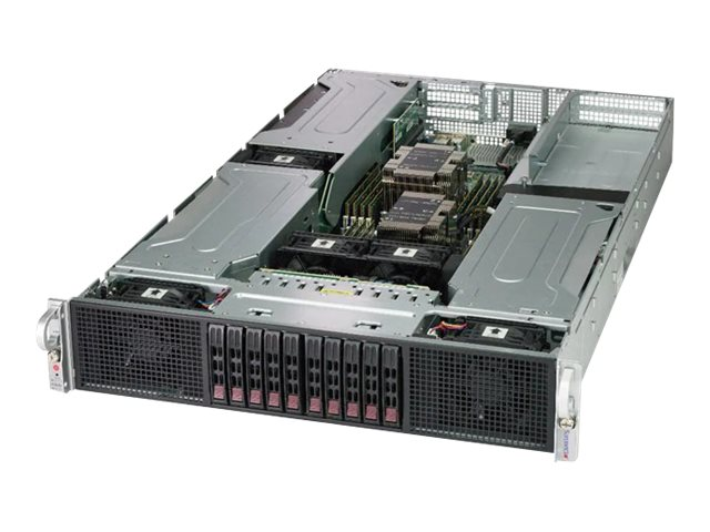 Supermicro SuperServer 2029GP-TR - Server - Rack-Montage - 2U - zweiweg - RAM 0 GB