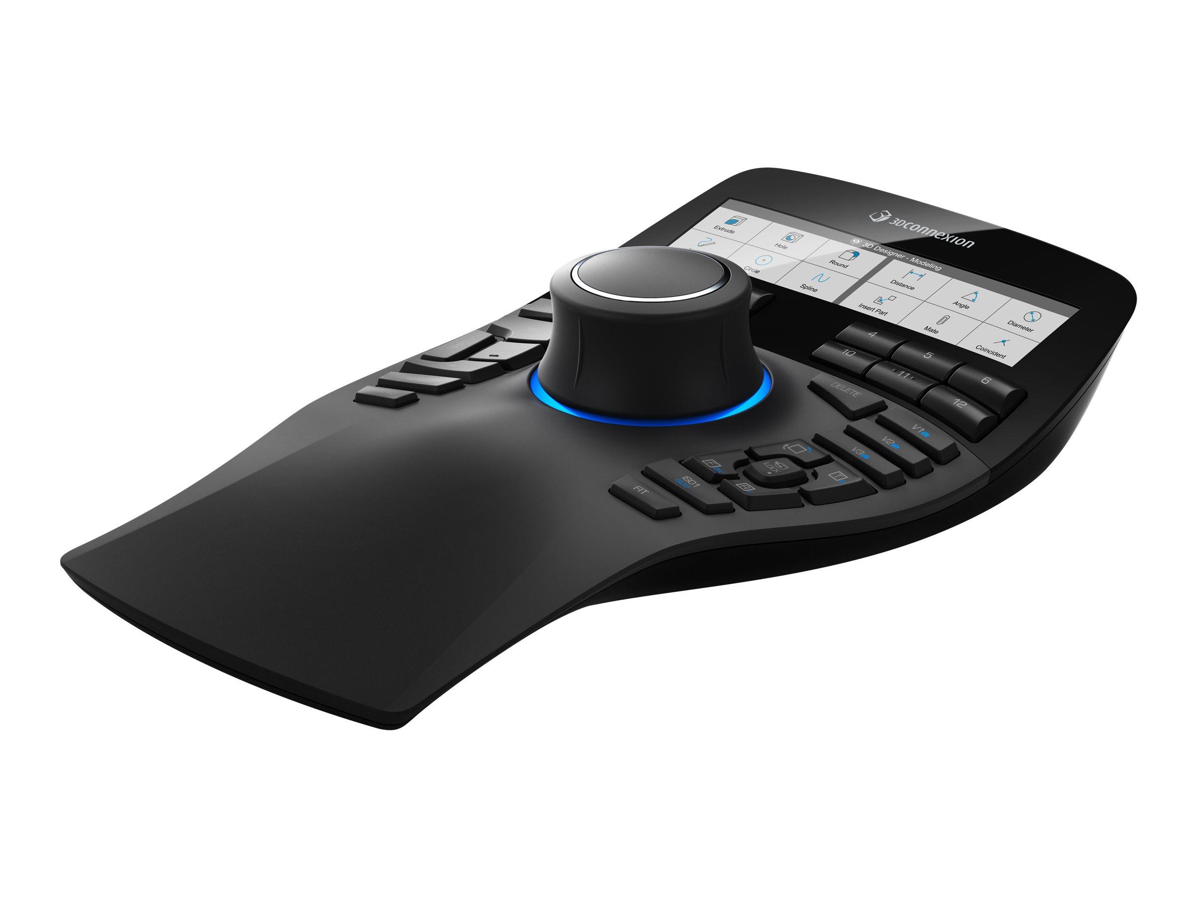 3Dconnexion SpaceMouse Enterprise - 3D-Maus - 31 Tasten - kabelgebunden - USB