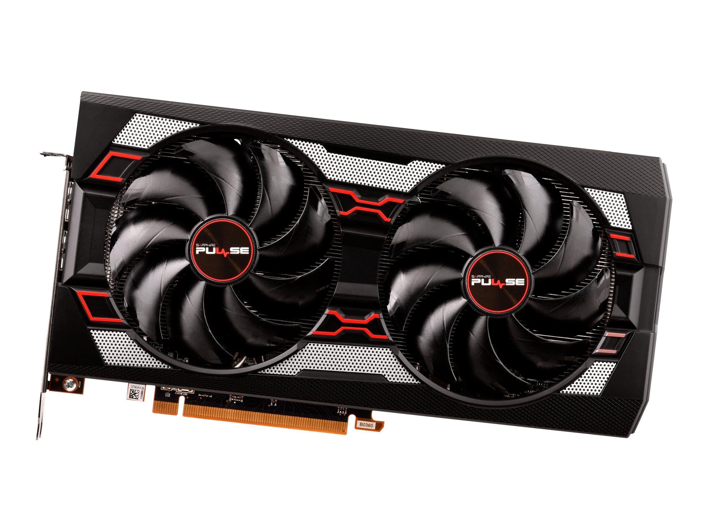 Sapphire Pulse Radeon RX 5700XT - Grafikkarten - Radeon RX 5700 XT - 8 GB GDDR6 - PCIe 4.0 x16 - HDMI, 3 x DisplayPort