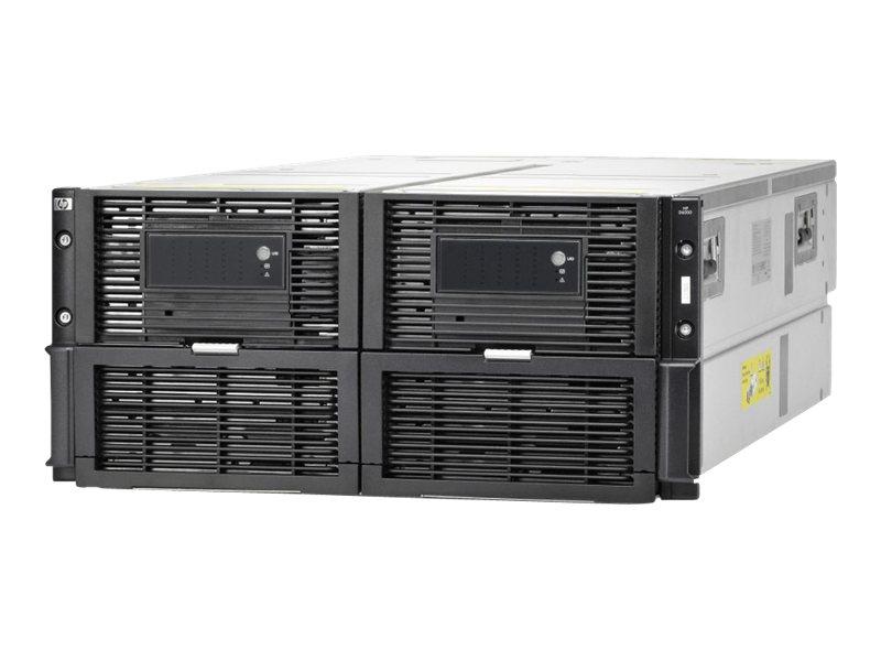 HPE Disk Enclosure D6000 with Dual I/O Modules - Speichergehäuse - 70 Schächte (SAS-2) - HDD x 0 - Rack - einbaufähig