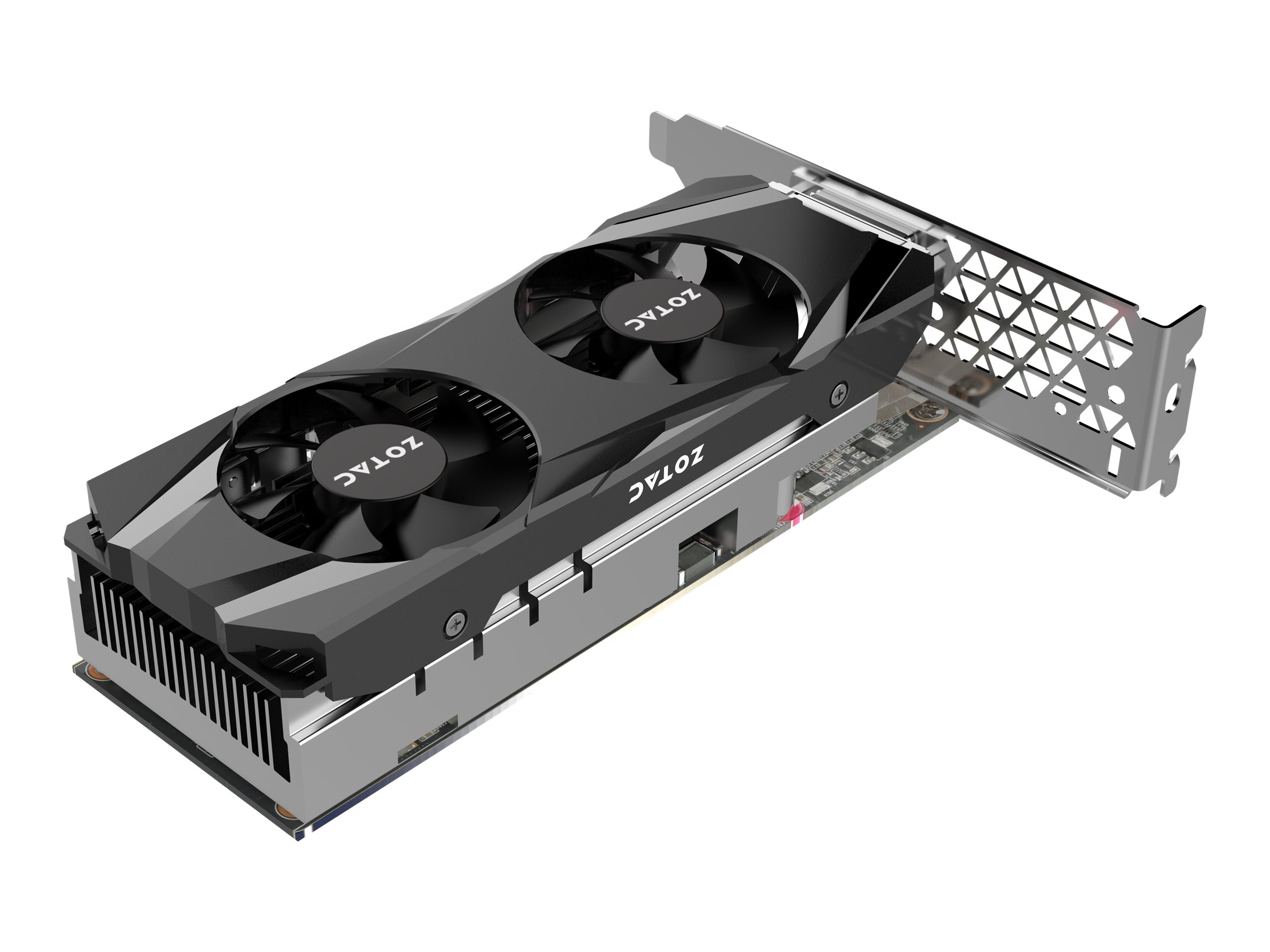 ZOTAC GeForce GTX 1050 Ti - Grafikkarten - GF GTX 1050 Ti - 4 GB GDDR5 - PCIe 3.0 Low-Profile - DVI, HDMI, DisplayPort