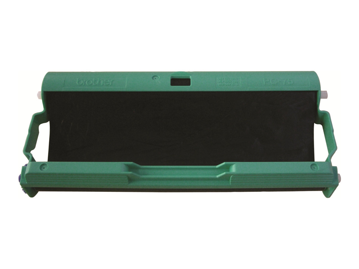 Brother PC75 - Schwarz - Farbbandkassette - für FAX-T102, T104, T106