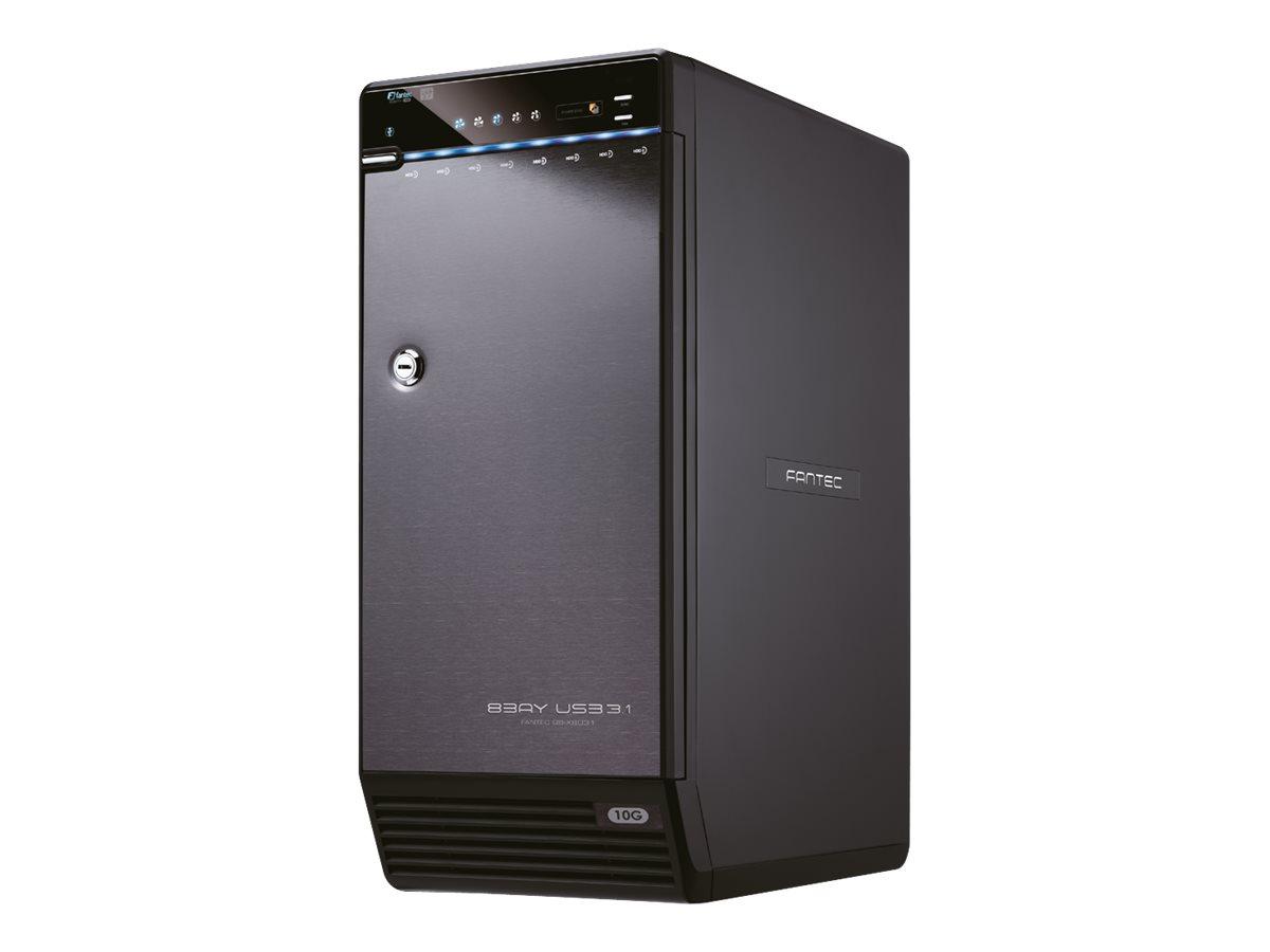 FANTEC QB-X8U31 - Festplatten-Array - 8 Schächte (SATA-600) - USB 3.1 Gen 2 (extern)