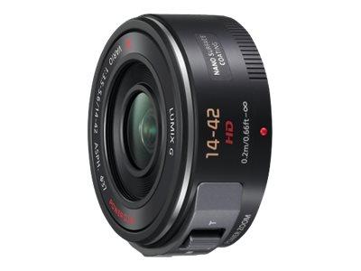 Panasonic Lumix H-PS14042E - Zoomobjektiv - 14 mm - 42 mm - f/3.5-5.6 G X VARIO PZ - Micro Four Thirds