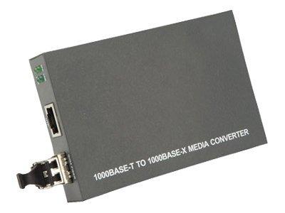 Roline RC1000SX/LC - Medienkonverter - GigE - 1000Base-SX, 1000Base-T - RJ-45 / LC Multi-Mode - bis zu 500 m