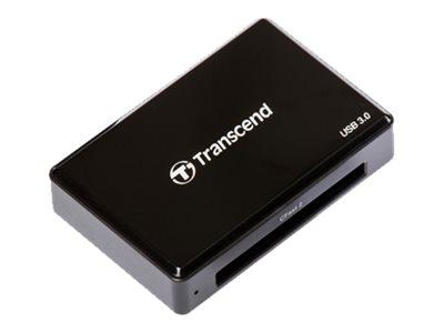 Transcend RDF2 - Kartenleser (CFast Card Typ I, CFast Card Typ II) - USB 3.0
