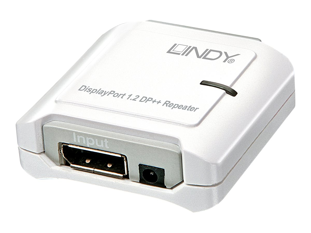 LINDY - Repeater - 20-poliger DisplayPort / 20-poliger DisplayPort - bis zu 40 m