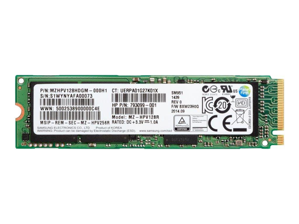 HP Z Turbo Drive G2 - Solid-State-Disk - 512 GB - intern - PCI Express 3.0 x4 - für Workstation Z240
