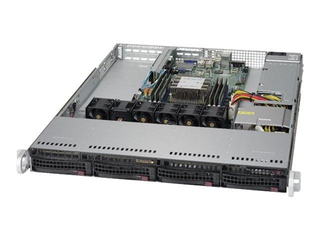 Supermicro SuperServer 5019P-WT - Server - Rack-Montage - 1U - 1-Weg - RAM 0 GB